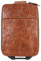 """Patricia Nash Tooled Florence Pienza 22"""" Carry-On Trolley"""