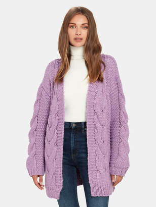 Moon River Cable Knit Cardigan
