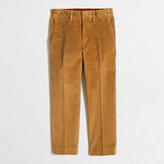 J.Crew Factory Boys' stretch corduroy Thompson suit pant