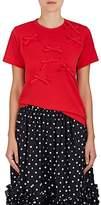 Comme des Garcons Women's Bow-Appliquéd Cotton T-Shirt