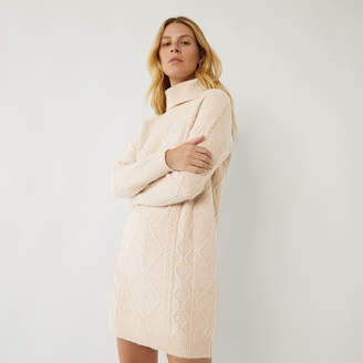 Warehouse CABLE JUMPER DRESS