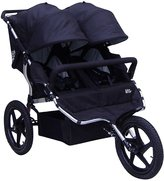 Tike Tech X3 Sport All Terrain Double Stroller - Classic Black