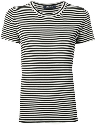 Max Mara striped crew neck T-shirt