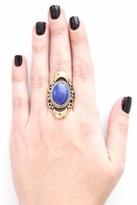 Natalie B Kelsey Ring in Blue Lapis