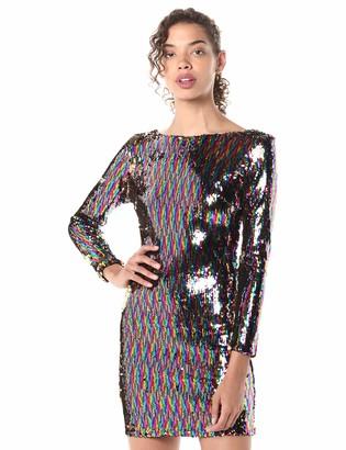 Dress the Population Women's Lola Sequin Dress