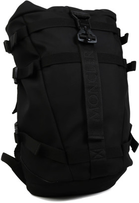 Moncler Logo Backpack Black