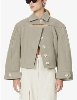 Jacquemus La Veste Albi wool-blend jacket