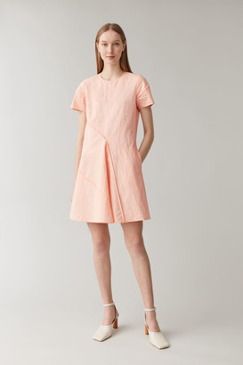 Cos Cotton-Linen Layered Dress