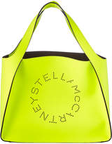 Stella McCartney Small Perforated Logo Tote