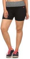 Simplicity SimplicityWomen Plus Size Biker Exercise Yoga Shorts