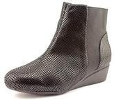 J. Renee Kareenatoo Women W Round Toe Synthetic Black Ankle Boot.