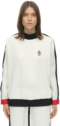 MONCLER GRENOBLE Round Neck Sweatshirt