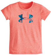 Under Armour Girls 2-6x Tri-Meta Logo T-Shirt