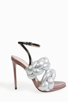 Marco De Vincenzo Metallic Rope Sandals