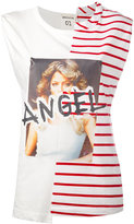 Semi-Couture Semicouture - Angel tank top - women - Cotton - S