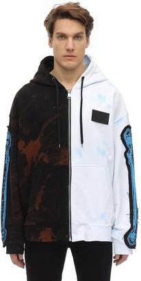 Faith Connexion Ntmb Split Hood Jersey Sweatshirt Hoodie