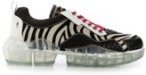 Jimmy Choo Diamond/M zebra print sneakers