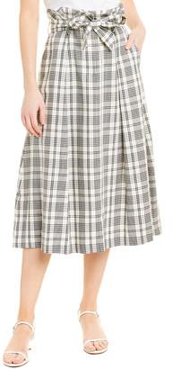 Max Mara Wool-Blend Midi Skirt