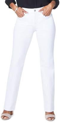 NYDJ Barbara Bootcut Jeans (Optic White)