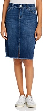Jag Jeans Betty Denim Pencil Skirt in Thorne Blue
