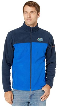 Columbia College Florida Gators CLG Flankertm III Fleece Jacket (Collegiate Navy/Azul) Men's Coat