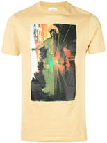 Facetasm printed crewneck T-shirt
