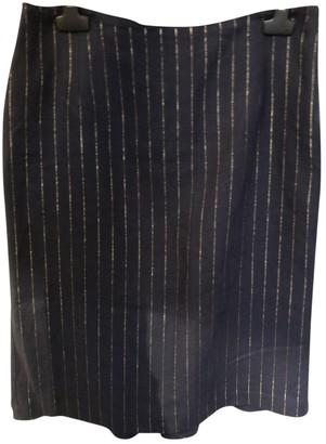 Lauren Ralph Lauren Blue Linen Skirt for Women