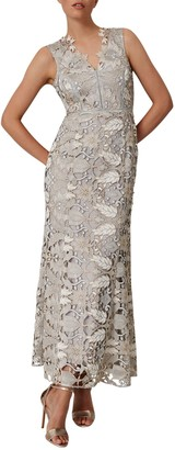 Phase Eight Collection 8 Zoey Lace Maxi Dress, Smoke