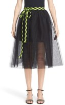 Marc Jacobs Tulle Wrap Skirt