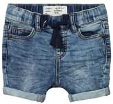 I Dig Denim Ben Jogger Shorts Blue