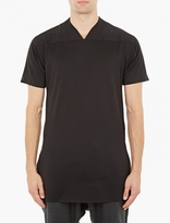 Y-3 Black Oversized V-neck T-shirt
