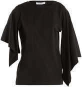 J.W.Anderson Draped-sleeve cotton T-shirt