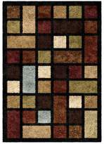 Orian Color Grid Multi-color Rug