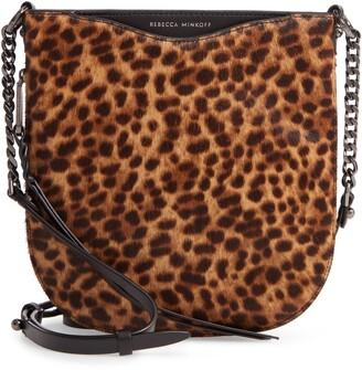 Rebecca Minkoff Emma Genuine Calf Hair Swing Crossbody Bag