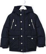 DSQUARED2 short padded coat