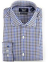 Original Penguin Heritage Slim-Fit Spread-Collar Check Dress Shirt