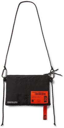 Neighborhood Embellished Shell Messenger Bag