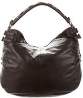 Sergio Rossi Lace-Up Leather Hobo