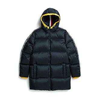 Tommy Hilfiger Men's Adaptive Ski Jacket with Magnetic Zipper and Hood