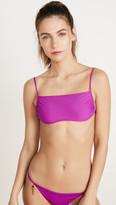 Stella McCartney Fine Straps Bandeau Bikini Top