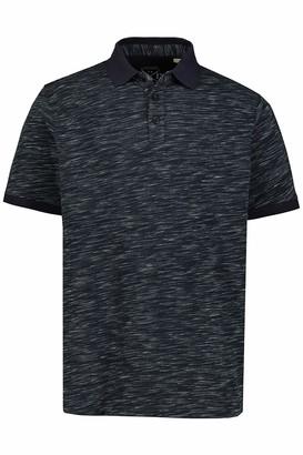 JP 1880 Men's Big & Tall Polo Shirt Black XX-Large 726739 10-XXL
