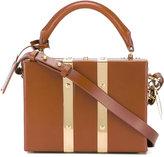 Sophie Hulme Milner mini satchel - women - Calf Leather/Cotton - One Size