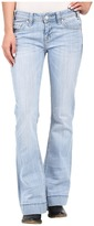 Rock and Roll Cowgirl Trousers Low Rise in Light Wash W8-7374