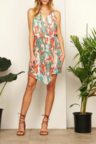 Adelyn Rae Mallory Printed Dress