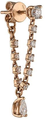Anita Ko 18kt rose gold Olivia diamond earring