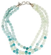 Tateossian Amazonite & Quartz Bead Necklace