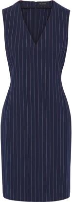 Rag & Bone Leki Pinstriped Stretch-cotton Dress