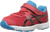 Asics GT1000 5 TS Toddlers Running Shoe 7K True Red-Black-Blue Jewel