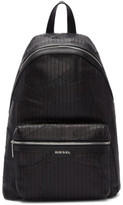 Diesel Black L-Grungy Backpack
