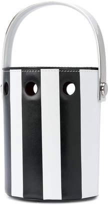 Perrin Paris Le Mini Seau striped bucket bag